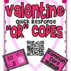 Valentine Quick Response &quot;QR&quot; Codes  Self Checking Subtrac