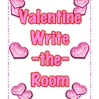 Valentine Sight Word Write-the-Room Independent Literacy Activity