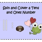 Valentine Spin and Cover a Tens and Ones Number