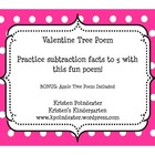 Valentine Subtraction Poem