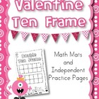 Valentine Ten Frame Activity