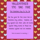 Valentine Tic Tac Toe