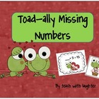 Valentine Toad-ally Missing Numbers