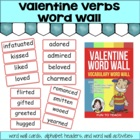 Valentine Verbs Word Wall