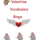 Valentine Vocabulary Bingo - Print & Go!