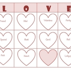 Valentine Vocabulary Bingo