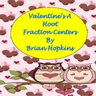Valentines A Hoot - Fraction Centers