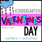 Valentines Activities for Kindergarten with ELA & Math Com