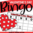 Valentine's Bingo-Valentine's Day Themed Bingo Game