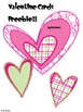 Valentine&#039;s Card Freebie