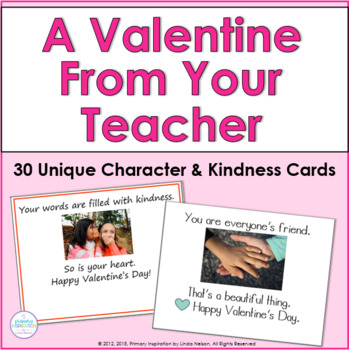 "Valentines Cards: ""From Your Teacher"""