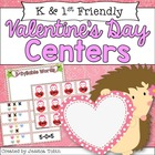 Valentine's Centers for Literacy and Math