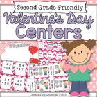 Valentine's Centers for Love Monsters {5 Literacy and 5 Math}