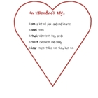 Valentine's Day Acrostic Poem Example