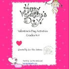 Valentine's Day Activities K-1st Grade