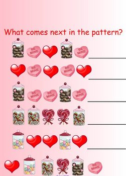 Valentines Day Activities for SmartBoard