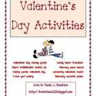 Valentine's Day Activity Unit