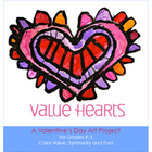 Valentine's Day Art Lesson: Value Hearts