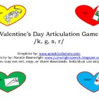 Valentine's Day Articulation Game