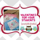 Valentine's Day Bookmarks Freebie for your students - All grades