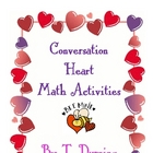 Valentine&#039;s Day Candy Heart Math Activities