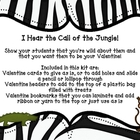 Valentine's Day Cards, Toppers and Bookmarks - Zoo or Jungle