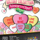 Valentine&#039;s Day Clip Art, Clipart - Candy Hearts Pack