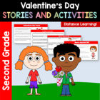 Valentine's Day Common Core Literacy - Original Stories an