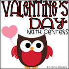 Valentine's Day Common Core Math Centers