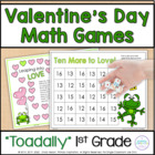 Valentines Day Common Core Math Games
