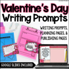 Valentine&#039;s Day Common Core Writing: Opinion, Informative,