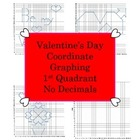 Valentine's Day Coordinate Graphing - First Quad. Only - H