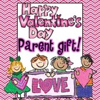 Valentine&#039;s Day Coupon Book (Parent Gift)