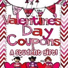Valentine&#039;s Day Coupon Book (Student Gift) Editable