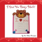 Valentine&#039;s Day Craft: I Love You Beary Much Writing Activ