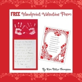 Valentine's Day Craft:Handprint Poem FREE