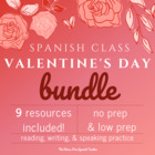 Valentine&#039;s Day, El Dia de San Valentin, 66 page packet fo