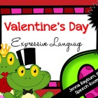 Valentine&#039;s Day Expressive Language Packet