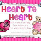 Valentine&#039;s Day {Fun Literacy and Math Activities}