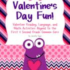 Valentine's Day Fun!: Valentine Activities Aligned to the