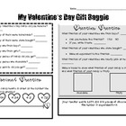 Valentine's Day Gift Baggie Math Review