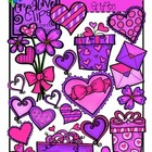 Valentine&#039;s Day Gifts {Creative Clips Digital Clipart}