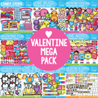 Valentines Day Graphics MEGA Pack - Graphics From the Pond