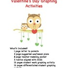 Valentine's Day Graphing Activities Aligned with Third Grade CCSS