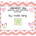 Valentine's Day Graphing and Measuring