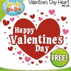 Valentine&#039;s Day Heart Stamp  FREE!