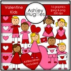 Valentine&#039;s Day Kids {Graphics for Commercial Use}
