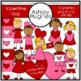 Valentine's Day Kids {Graphics for Commercial Use}