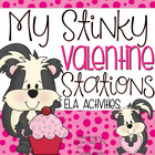 Valentine's Day Literacy Set