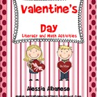 Valentine&#039;s Day Literacy and Math Activities